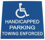 Handicapsignsparkingtowing